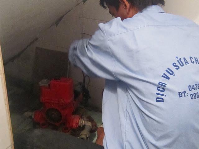 Sửa chữa máy bơm nước tại Định Công